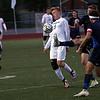 Titan player Dawsun Schrum tries to break up a Cougar rush in first half action. Stevenson hosted Dakota Wednesday night in boys soccer action. (MIPrepZone photo gallery by Jon Kohlmann).