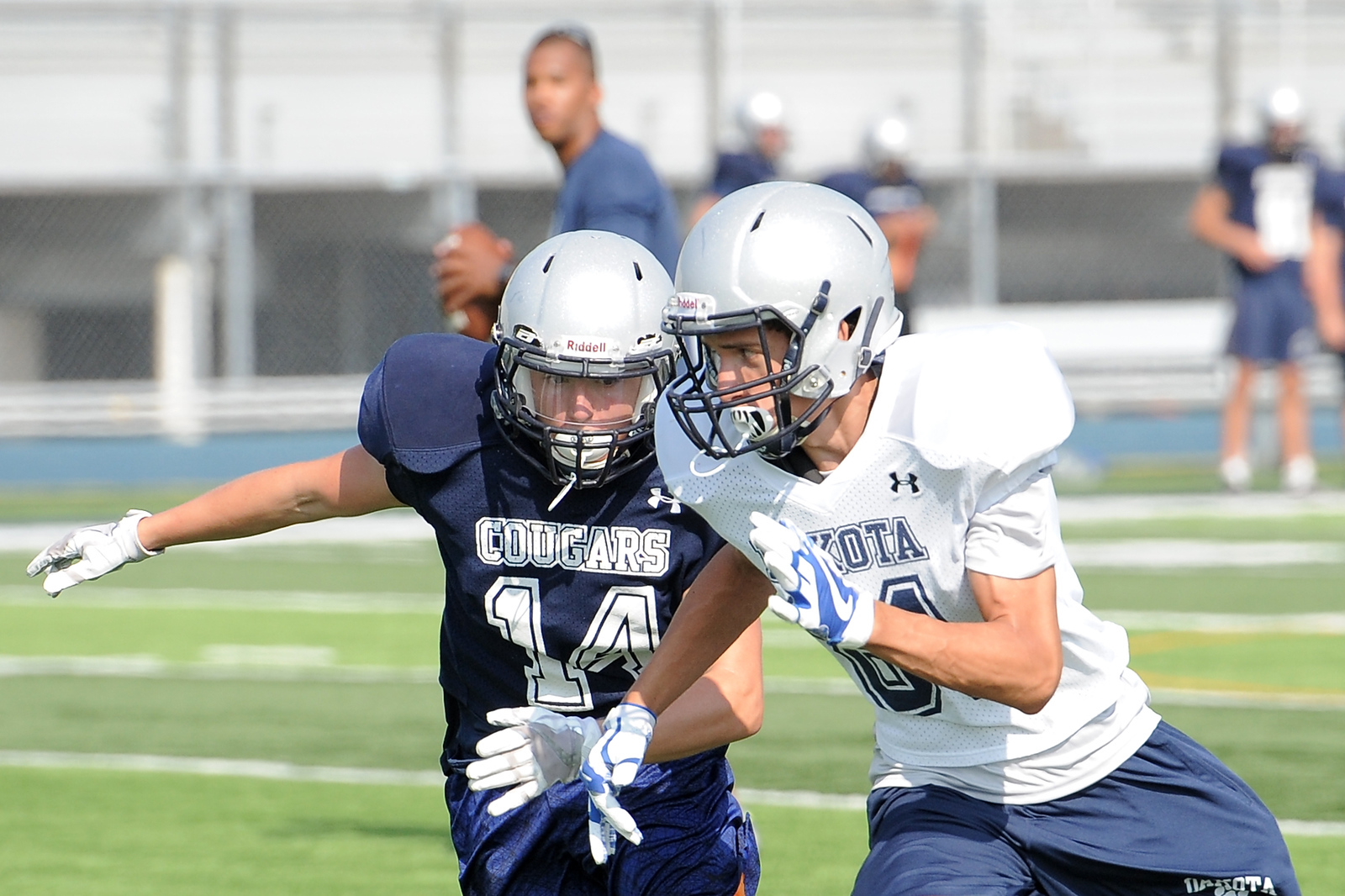 The Dakota High School football team gets ready for the 2017 season. THE MACOMB DAILY PHOTO GALLERY BY DAVID DALTON