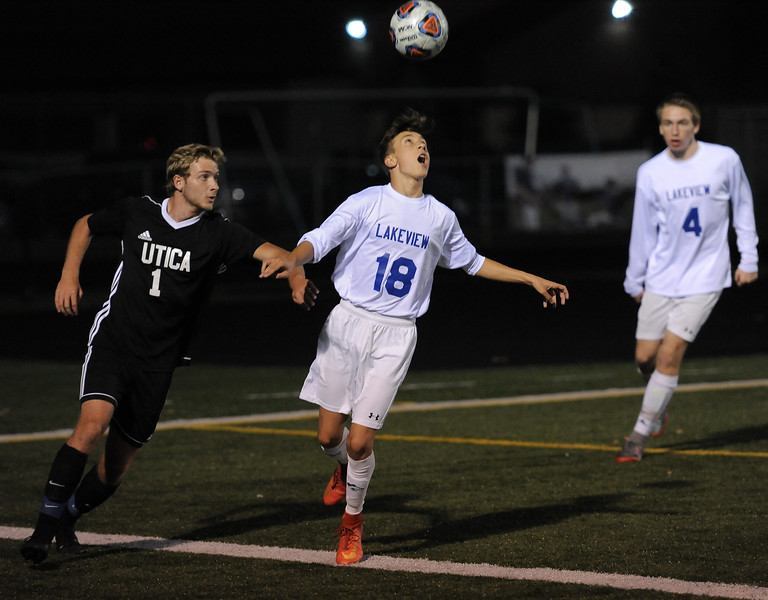 Utica vs Lakeview on October 9, 2017. THE MACOMB DAILY PHOTO GALLERY BY DAVID DALTON