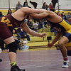 Warren-Mott defeated Lakeview and Fitzgerald in a MAC Gold Division double dual on Jan. 12, 2017. Lakeview beat Cousino, and Cousino defeated Fitzgerald. (MIPrepZone photo gallery by George Pohly)