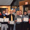 The all-Macomb County Division I wrestling team. (MIPrepZone photo by Matthew B. Mowery)