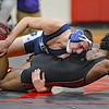 David Kaltz of Richmond wins over Reggie Muse of Michigan Collegiate in The 160 class.(MIPrepZone photo gallery by David Dalton)