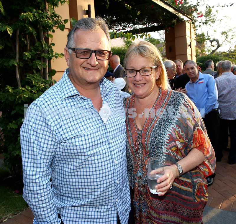 MDA Cocktail Party to honour Robert Magid as new patron. Richard Balkin with his wife Naomi. Pic Noel Kessel.