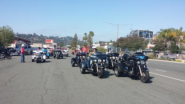 MDA Event ride