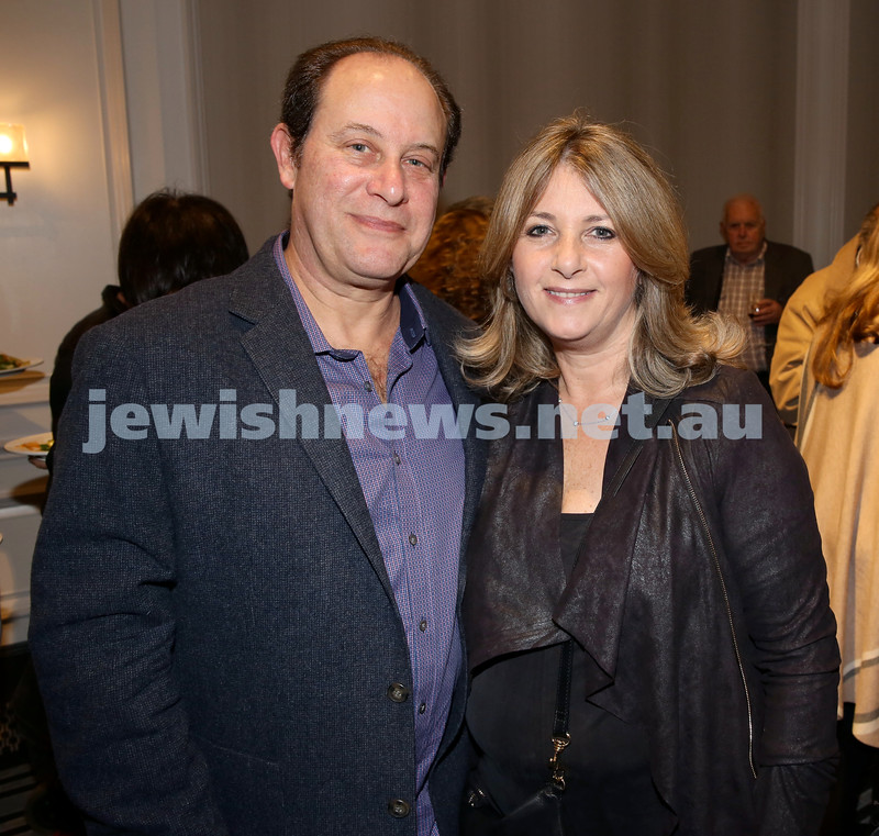 MDA Fundraiser event at the Intercon Hotel in Double Bay. Harold & Robyn Bernitz.