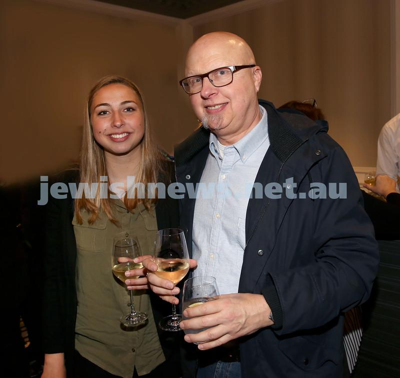 MDA Fundraiser event at the Intercon Hotel in Double Bay. Michaela & Peter Zipkis. Pic Noel Kessel.