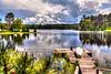 Runkle Lake, Crystal Falls, Upper Peninsula, Michigan.