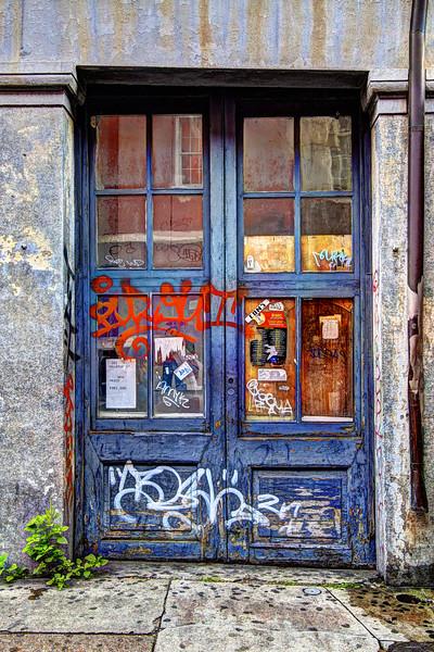 Graffiti Door #3, New Orleans
