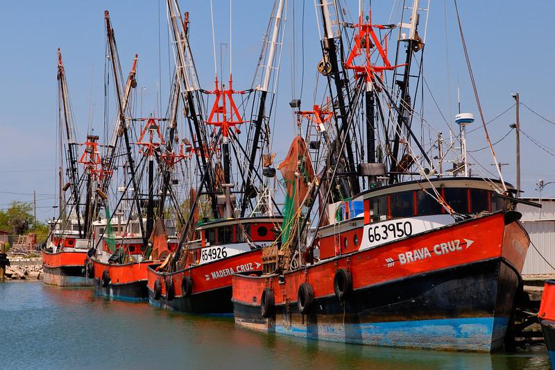 Shrimp Boats, Port Isabel, Texas
