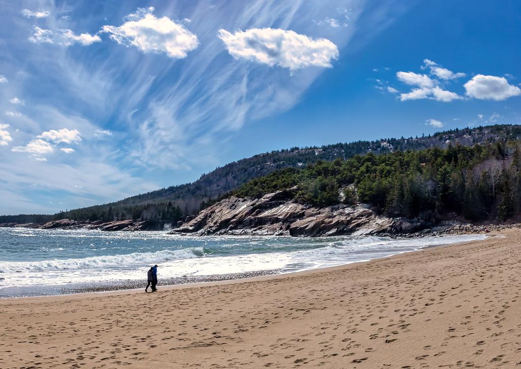 Sand Beach Gorham Mountain 4-7-18
