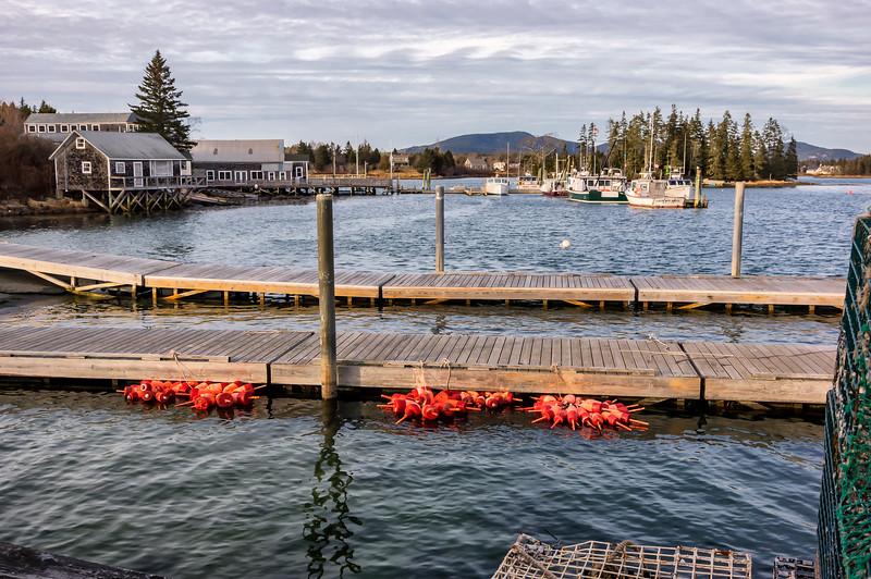 MDI Bass Harbor from Bernard 12-24-17