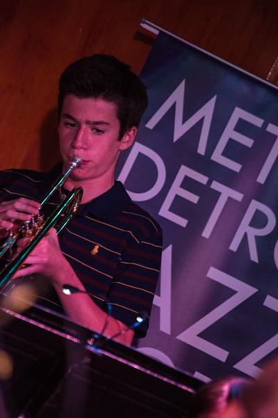 Metro-Detroit Jazz Workshop - Cliff Bell's - Middle School Big Band 7-18-2016