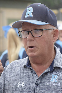 Howard Stuart thought his aggressiveness from the third-base coaching box contributed to Richmond's 3-2 loss to Divine Child in a Division 3 quarterfinal game.