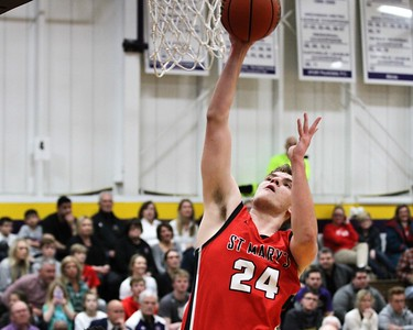 Orchard Lake St. Mary defeated De La Salle 60-47 in a game played on January 11, 2019 at De La Salle. Digital First Media photo gallery by George Spiteri.