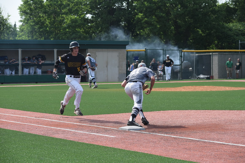 Divine Child defeated Lutheran North 6-2 in a Division 2 quarterfinal game played at Novi High School Tuesday afternoon. (MIPrepZone photo gallery by Jim Evans)