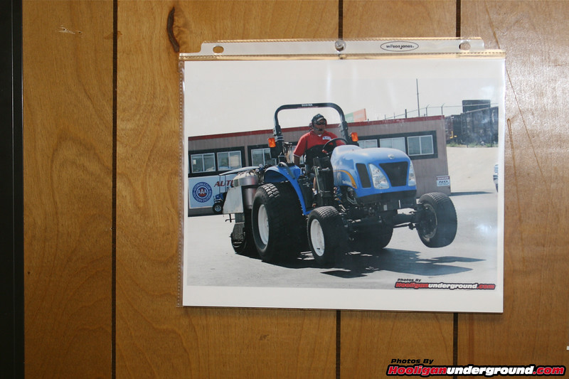 Even after being published in magazines world-wide (which is pretty exciting) it's a real treat to see a Hooligan Underground photo hanging on the wall in the race 'tower' at Auto Club Dragway in Fontana!!