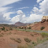 The area is becoming more Mars-like: Capitol Reef National Park