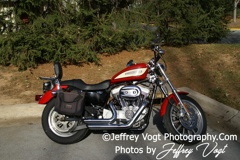 Jeffrey Vogt's Harley Davidson 1200 Roadster in Montgomery County Maryland, Photos by Jeffrey Vogt Photography