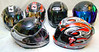 Scorpion Helmets $125.00 each. Shoei Helmets $150.00 - $550.00<br /> <br /> All are like new.
