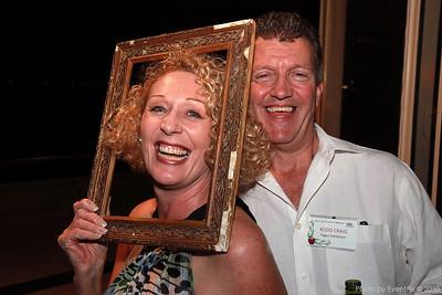 Melanie Burt (exhibiting green), Rodd Craig (Pages Exhibition)