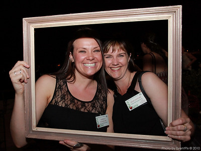 Kimberley Rutherford and Kylie Catford (Forte catering)