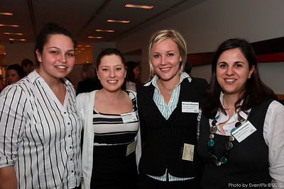 Natasha Matkiovic (NCC), Emma Papas (NCC), Marianne Willenborg (NCC) and Diann Castrissios (NCC)
