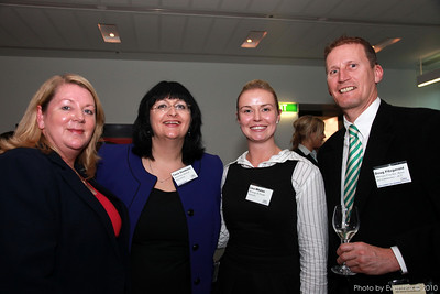 Vicki Munday (DEEWR), Tania Goodacre (AMA), Lisa Whelan (MEA) and Doug Fitzgerald (Murrays Coaches)