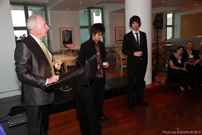 Adrian Keenan (ANU Shcool of Music) and students