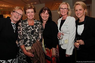 Rhona Walker (Solution RED), Linda Gaunt (MEA), Nektaria Stravropoulos (Murrays), Toni Broekhuyse (Murrays) and Pina Bargenda (MEA)
