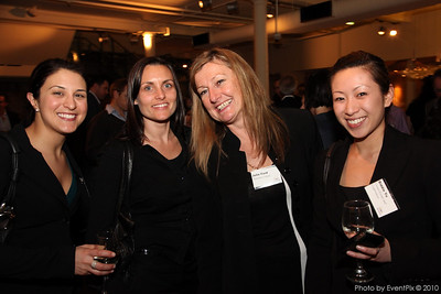 Romina DiPalma (Crown Melbourne), Erin Nugent and Julir Ford (Hamilton Island) and Biddie Yu (Crown Events & Conferences)