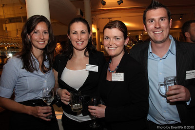 Amanda Lovett (Moreton Hire), Emma Rutledge (SCEC), Alicia O'Leary (SCEC) and Mitchell Gaal (Moreton Hire)