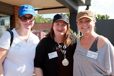 Nerissa Worwood, Shari Carr and Julie Van der Weegen
