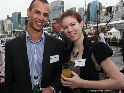Brandon Bowers and Katrina Hoeben (microhire)