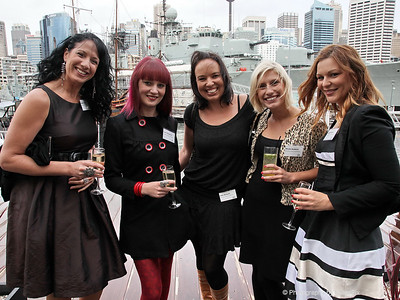 Louise Jones, Cass Thompson, Jada Bennett, Nicola Goldrick and Jacquie Bower (Decorative Events)
