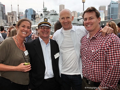 Joan Loewensohn (Zest), Brendan Burke (SHFA), Peter Bliss (Business is Bliss), Andrew Howard (Howard & Sons)