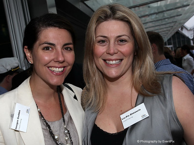 Imogen Geddes and Lia-Pin Dimascio (Crunch Catering)