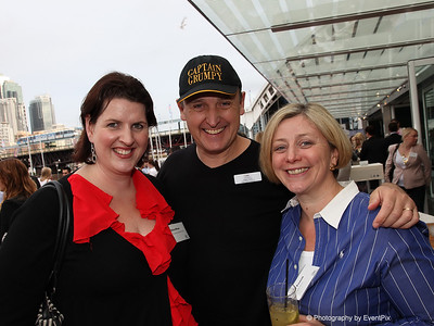 Olivia Wilson (This Space Event Studio), Nigel Collin (Nigel Collin Creative) and Jayne Powell (Champagne Jayne)
