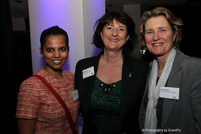 Ruchi Ladkani (SCEC), Christine Judd (Trippas White Group), Claire Oxdale (NSW Business Chambers)