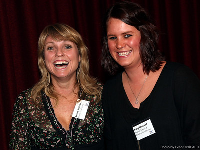 Leona Watson (Cheeky Food Group) and Sally Wieland (Staging Rentals)