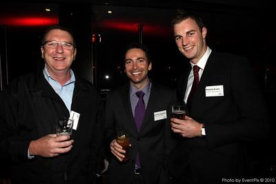 Gary McNamara (ExpoNet NSW), Nicholas Ntagiantas and Hamish Evans (Fraser Suites Sydney)