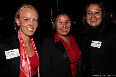 Kellie Miles (Aust. School of Buniness NSW), Cherelle Anom (MEA), Alice Niezborala (Kitandkaboodle)