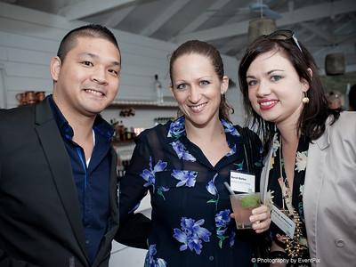 John-Michael Hilton, Sarah Barker and Lynleigh McPherson
