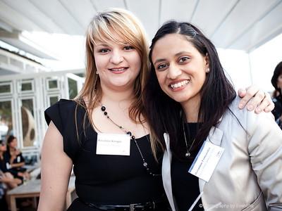 Melanie Sidoroff and Melannie Fernandez