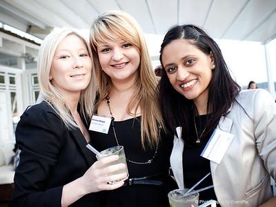 Kristina Kargin, Melanie Sidoroff and Melannie Fernandez