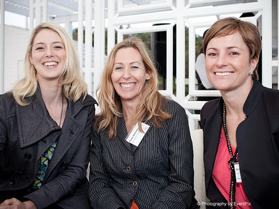 Kimberley Judge-Nash, Fiona Bennett and Jennifer Langgons