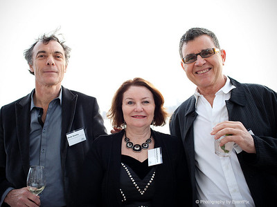 Keith Stanley, Rosalind Barrett-Lennard and Victor Pisapia