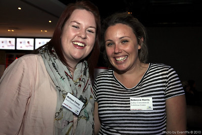 Melissa Casey (Reed Travel Exhibitions), Rebecca Harris (SCEC)