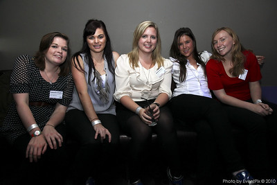 Gabriella Dryden (Aust Soc for HIV Medicine), Stephanie McKay, Sarah Harvey, Jasmine Searle (The Events Authority)