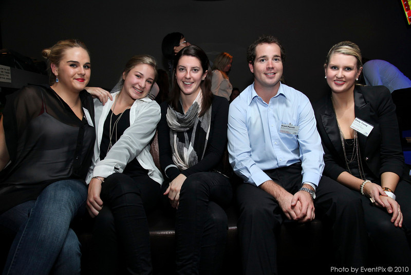 Elizabeth Bennett (Aust Soc HIV Medicine), Alaina Koroday, Grant Purcell (Sydney princess Cruises), Emily Young (Uni of NSW)