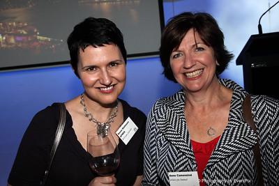 Karen Mathieson (ID Events Aust.), Anne Camenzind (arinex)